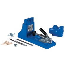 Image 2 of Kreg K4 Pocket-Hole Jig, 3-Guide Hole, Nylon, For 1/2 to 1-1/2 in Thick Materials