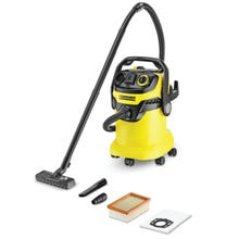 Image 2 of Karcher WD5/P Series 1.348-197.0 Vacuum Cleaner, 120 V, 6.6 gal Tank, 1800 W