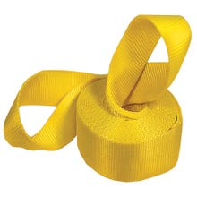 Image 2 of KEEPER 02922 Recovery Strap, 15,000 lb Weight Capacity, Nylon, Yellow