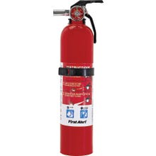Image 2 of FIRST ALERT GARAGE1 Rechargeable Fire Extinguisher, Sodium Bicarbonate Extinguish Agent, 2.5 lb Capacity