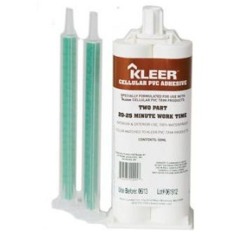 KLEER Cellular PVC Adhesive - Slow Cure