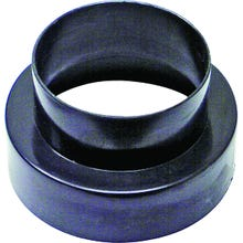 Image 2 of Lambro 235 Vent Adapter Female (Large End), Male (Small End), Plastic, Black