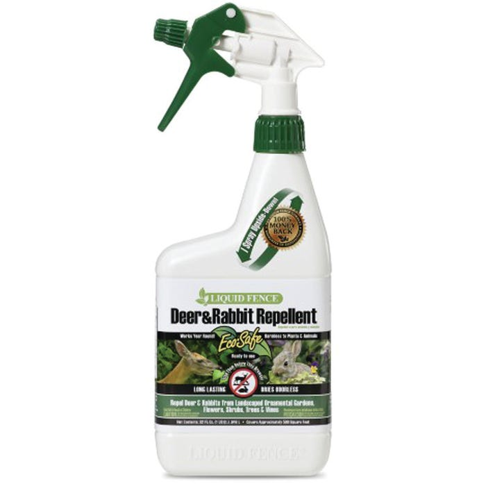 LIQUID FENCE Ready-to-Spray Deer and Rabbit Repellent 32 fl. oz.