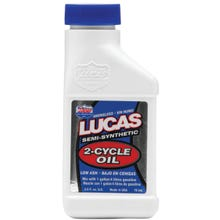 Image 2 of Lucas Oil 10058 2-Cycle Oil Blue/Green, 2.6 oz