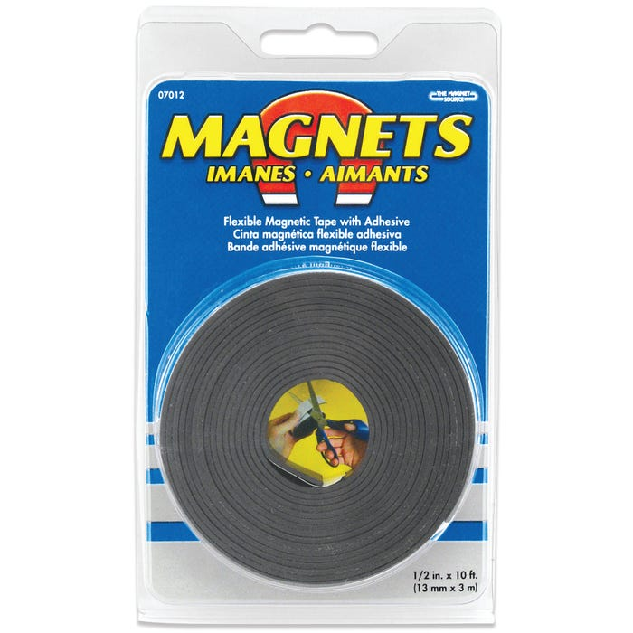 Image 2 of Magnet Source Magnetic Tape, 1/2 in. Wide x 10 ft. Long