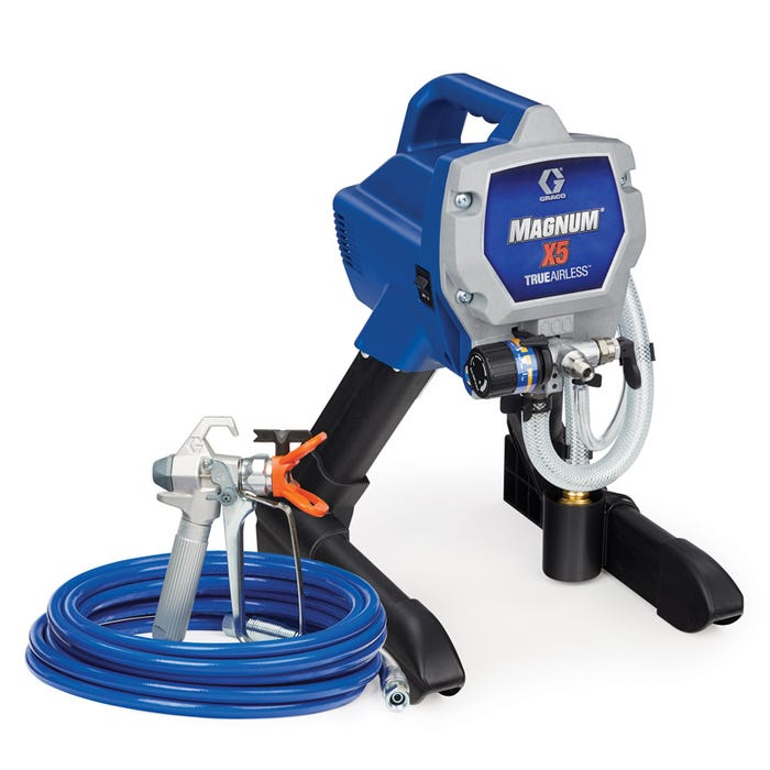 GRACO Magnum X5 TrueAirless Sprayer, Stand