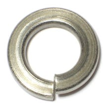 Image 1 of MIDWEST  ½ in. x ⅞ in.  Zinc Plated Grade 2 Steel Split Lock Washers, 50 Count