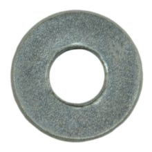 """Image 1 of MIDWEST #6 x 5/32"""" x 3/8"""" Zinc Plated Grade 2 Steel SAE Flat Washers 350 Count"""