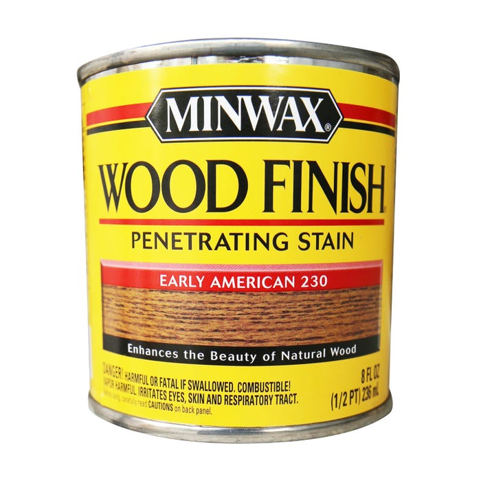 Minwax Wood Finish, Early American #230, 1/2 Pint