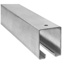 Image 2 of National Hardware N105-213 Box Rail, 1-57/64 in W, 2-13/32 in H, Galvanized Steel