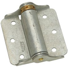 Image 1 of National Hardware N115-105 Spring Hinge, 25 lb Weight Capacity, Galvanized Steel