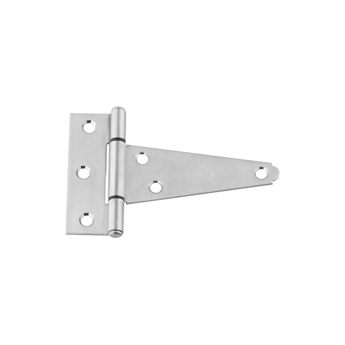 Image 2 of National Hardware N342-501 T-Hinge, Wall Mounting, Stainless Steel