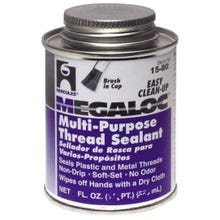 Image 2 of Oatey Megaloc 15804 Thread Sealant, Blue, 4 oz Can