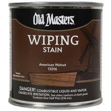 Old Masters Wiping Stain, American Walnut, 1/2 Pint