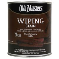 Image 1 of Old Masters Wiping Stain, Rich Mahogany 1/2 Pint
