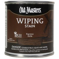 Image 1 of Old Masters Wiping Stain, Espresso, Quart