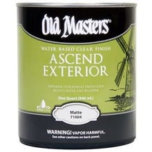 Image 1 of Old Masters Ascend Exterior® Clear Matte Finish, Quart
