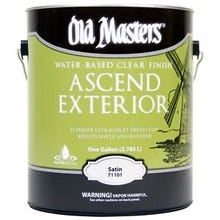Image 1 of Old Masters Ascend Exterior® Clear Satin Finish, Gallon