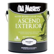 Image 1 of Old Masters Ascend Exterior® Clear Semi-Gloss Finish, Gallon