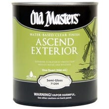 Image 1 of Old Masters Ascend Exterior® Clear Semi-Gloss Finish, Quart