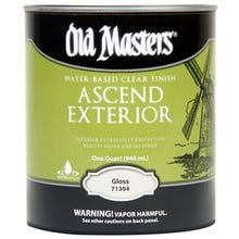 Image 1 of Old Masters Ascend Exterior® Clear Gloss  Finish, Quart