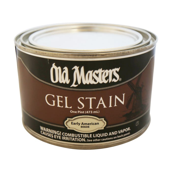 OLD MASTERS GEL STAIN,Early American, PINT