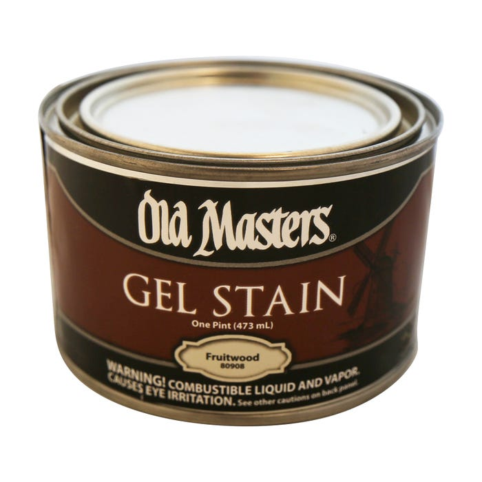 OLD MASTERS GEL STAIN,Fruitwood, PINT