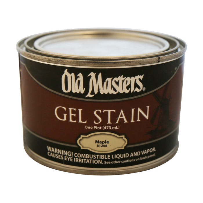OLD MASTERS GEL STAIN,Maple, PINT , 81208