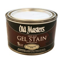 OLD MASTERS GEL STAIN,Crimson Fire, PINT , 84108