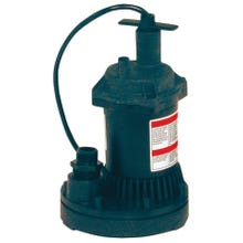 Image 2 of Flotec FP0S1250X-08 Submersible Utility Pump, 115 V, 1 in Outlet, 1200 gph