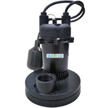 Image 2 of Burcam 300500Z Sump Pump, 115 V, 4 A, 1-1/4 in Inlet, 1-1/2 in Outlet, 1450 gph