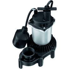 Image 2 of Flotec FPZS25T Sump Pump, 115 V, 3.9 A, 1-1/2 in Outlet, 3200 gph