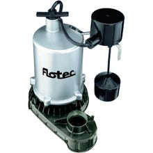 Image 2 of Flotec FPZT7550 Sump Pump, 115 V, 7.9 A, 1-1/2 in Outlet, 4980 gph