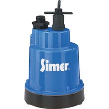 Image 2 of Sta-Rite Simer Geyser 2300 Submersible Utility Pump, 115 V, 5.6 A, 1-1/4 in Outlet, 1320 gph