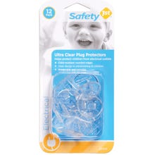 Image 2 of Safety 1st 1711 Ultra Clear Plug Protector, Plastic, Clear