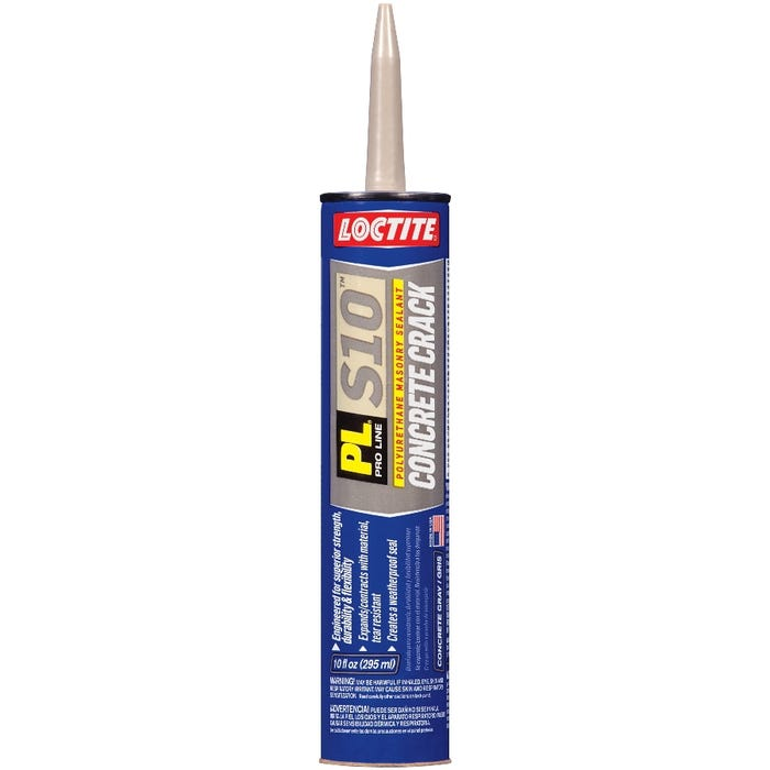 LOCTITE PL CONCRETE CRACK SEALANT, 10 FL OZ