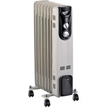 Image 2 of PowerZone Oil Filled Radiator Electric Heater, 600/900/1500 W
