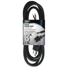Image 2 of Powerzone OR010608 Power Cord, 8 ft L, 13 A