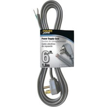 Image 2 of Powerzone OR210606 Power Cord, 6 ft L