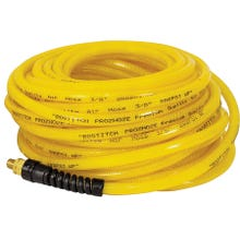 Image 2 of Bostitch PRO-1450 Premium Air Hose, 1/4 in OD, MNPT, Polyurethane, Yellow