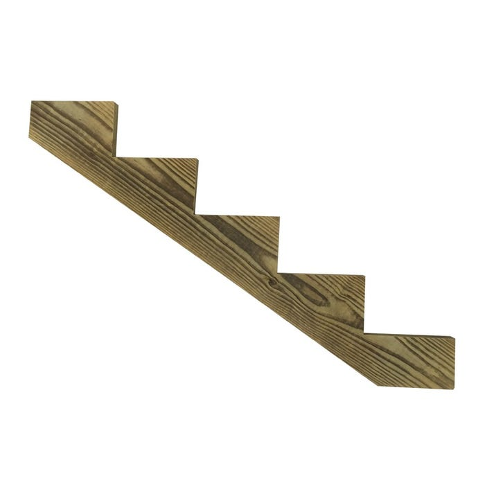 5 Step Treated Stair Stringer
