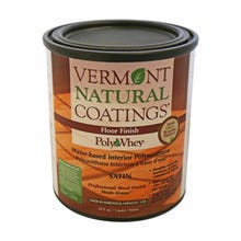 Vermont Natural Coatings POLYWHEY FLOOR FINISH SATIN QT