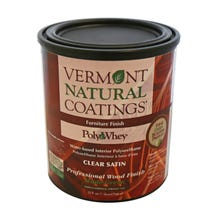 Vermont Natural Coatings PolyWhey Floor Finish, Satin, Quart