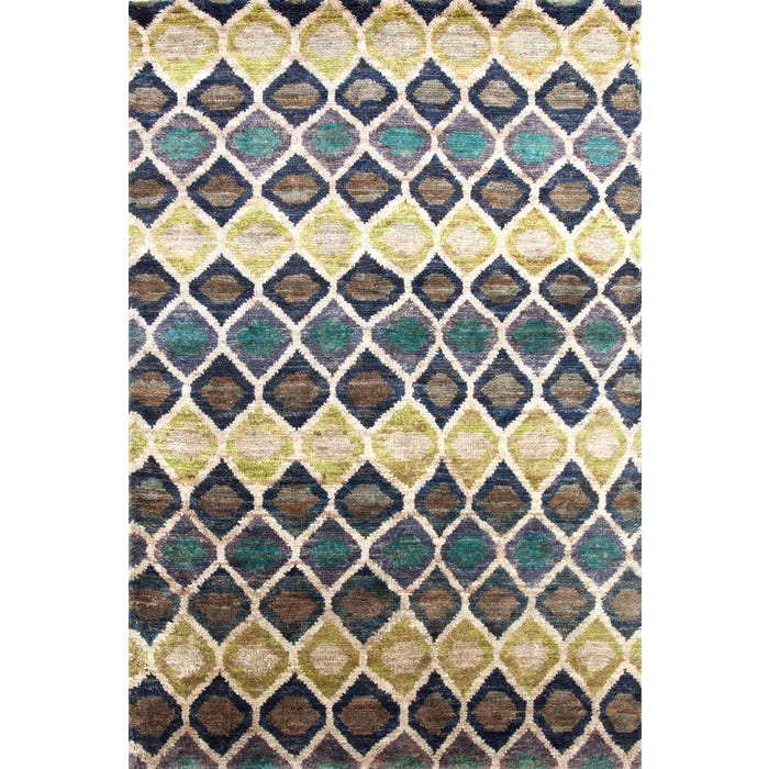 Dash & Albert Prism Hand Knotted Jute Rug