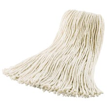 Image 2 of Quickie 0391GM Cut-End Wet Mop Head, Cotton, For Model 038 Mop Handle