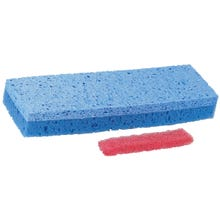 Image 1 of Quickie 0442 Automatic Sponge Mop Head, Cellulose, For Model 045 Type S Sponge Mop