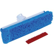 Image 2 of Quickie 05724/3 Automatic, Roller Sponge Mop Head, Poly, For Model 057 Type R Roller Mop