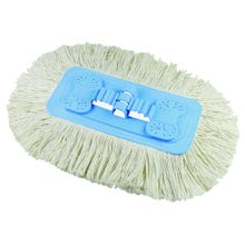 Image 2 of Quickie 604ZQK Soft Swivel Dust Mop Refill, Microfiber, for Model #060 Microfiber, Chenille Dust Mop