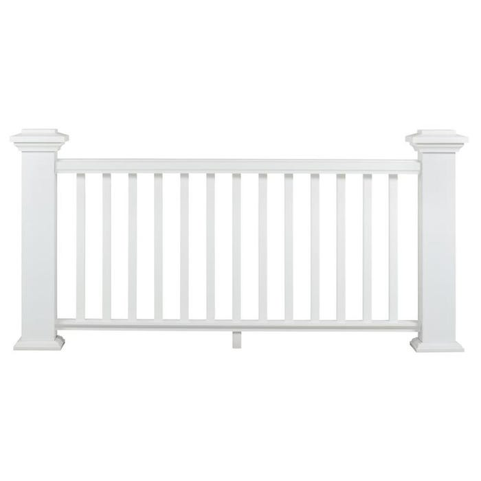 AZEK Trademark Composite Rail Kit with Hardware and Balusters