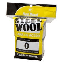 RED DEVIL STEEL WOOL 8PK, 0 FINE